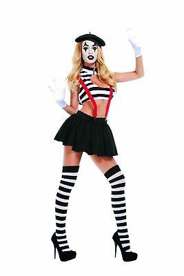 Starline Women's Hush Mime Costume