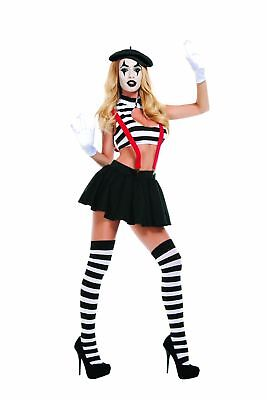 Starline Women's Hush Mime Costume](Female Mime Costume)