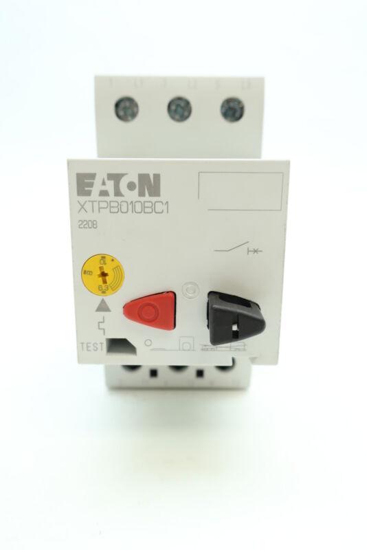 Eaton XTPB010BC1 Manual Motor Protector 6.3-10a Amp