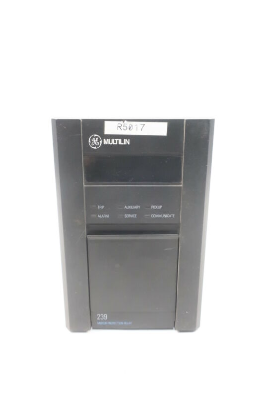 General Electric Ge 239-RTD-AN Multilin Motor Protection Relay 70-265v-ac