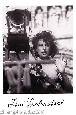 Leni Riefenstahl ++Autogramm++ ++dt. Film Legende++