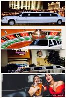 Limousine stretch night out wedding ☎️416-407-7355