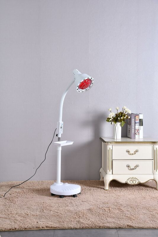 Floor Infrared Lamp 275W Physiotherapy Pain Relif Heating Body Therapy Light