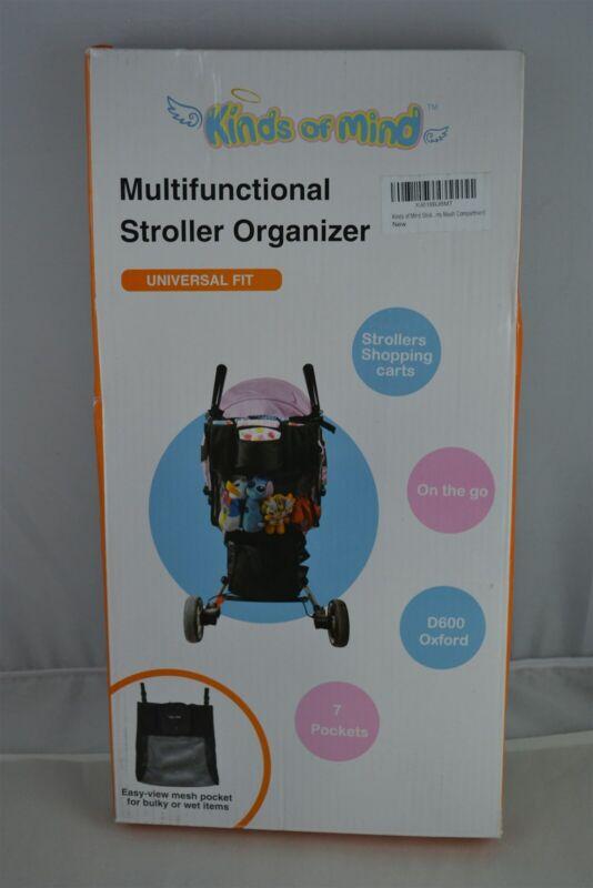 Multifunctional Stroller Organizer - Universal Fit