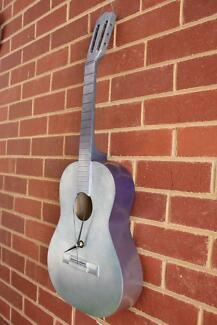 Unicorn Guitar Clock Created by Resurrection Instruments