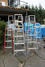 LADDERS ALUMINIUM A FRAME VARIOUS SIZES AVAILABLE Frenchs Forest Warringah Area Preview