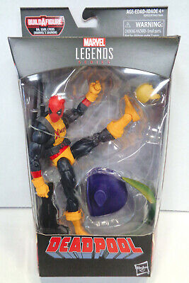 Marvel Legends: Deadpool Action Figure (2017) Hasbro New Dr. Karl Lykos BAF for sale  Shipping to India