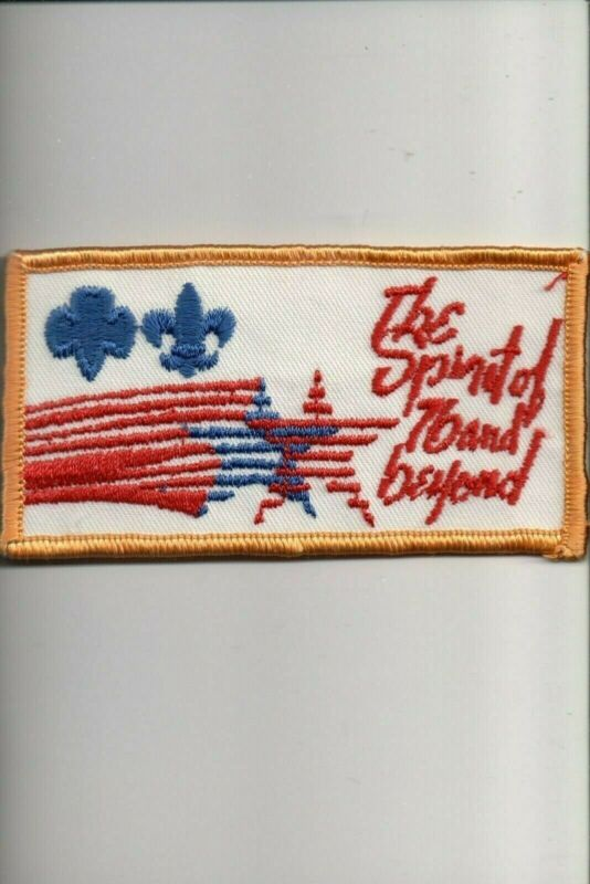 The Spirit of 76 and Beyond patch