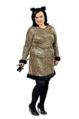 Kostüm Leopard od. Zebra Tierkostüm große Größen Gr.44-54 Karneval Fasching NEU