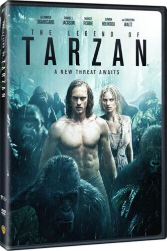 The Legend of Tarzan (DVD, 2016) w/ Alexander Skarsgard, Samuel L. Jackson, NEW