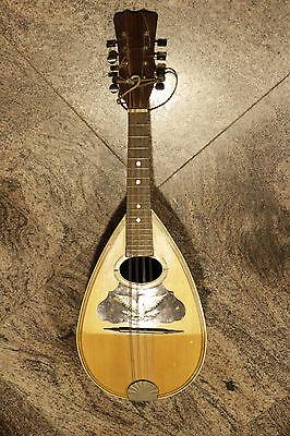 Ausgebogte Mandoline Gitarre Tailpiece Brücke w 3 Schrauben Short Goldene