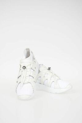 ALEXANDER MCQUEEN men Sneakers Size 39 it White JOEY Sock Sneaks Shoes White ...