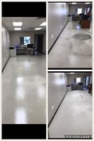 Stripping and refinishing carpet cleaning general cleaning