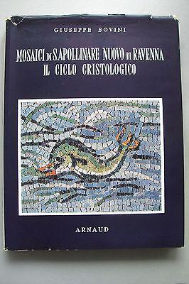 Mosaici di S. Apollinare Nuovo di Ravenna il Ciclo Christologico 1958 Mosaik