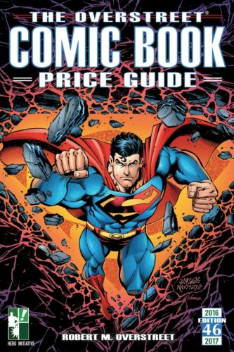 Overstreet Comic Price Guide #46 Hero Initiative EXCLUSIVE Dan Jurgens cover!