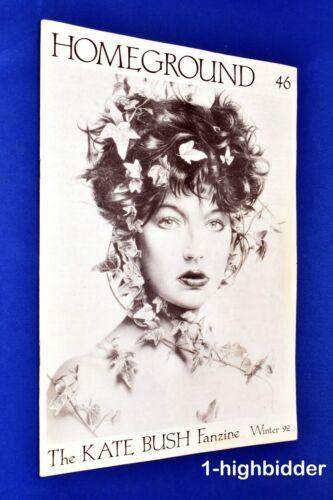 Kate Bush Homeground #46 Winter 1992 Rare UK Fanzine OOP