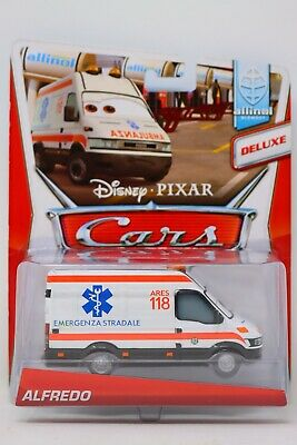 Disney Pixar Cars Deluxe Alfredo Allinol Blowout