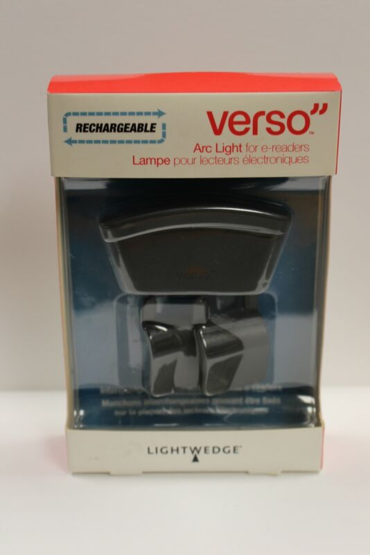 LightWedge Verso Rechargeable Arc Light for E-Readers (VR002-001-06)