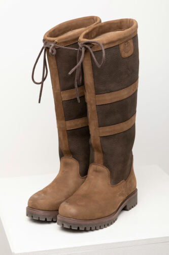 f5e03f729c0 Men's Boots Tullymore Riding Leather Country Footwear Yard Walking Hiking  Rydale