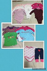 3 to 6 month long sleeve top lot