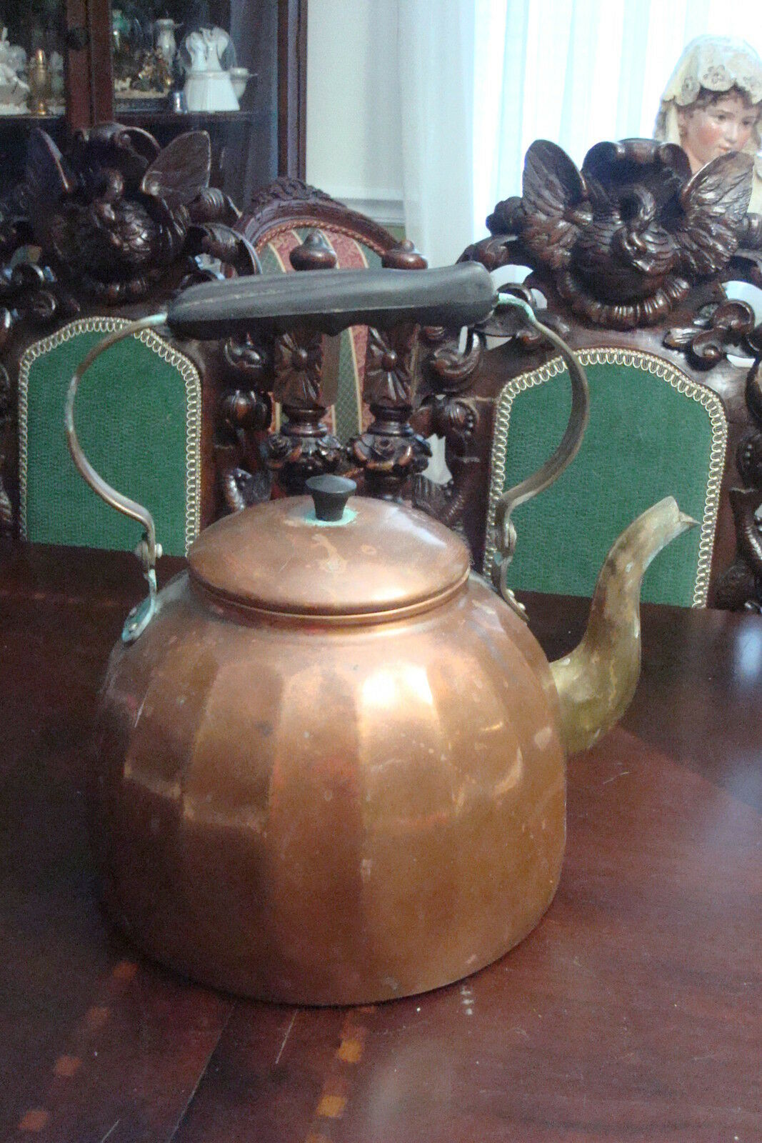 Rein Kupfer Copper Tea Kettle Ff 22 Made In Germany Ebay