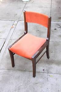 Set of 6 Melbourne Made Retro Dining Chairs Fairfield Darebin Area Preview