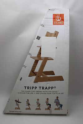 Stokke Tripp Trapp Chair Treppenhochstuhl natural Buche Natur lackiert