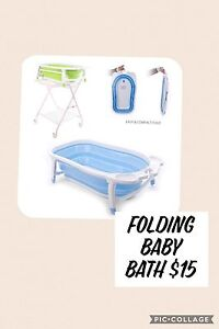 Folding baby bath Mount Warrigal Shellharbour Area Preview