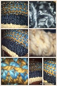 Extra large arm knit blankets  Cambridge Kitchener Area image 1