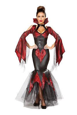 Halloween Kostüm Rock Top edel schwarz Fasching Karneval Größenwahl Made in USA
