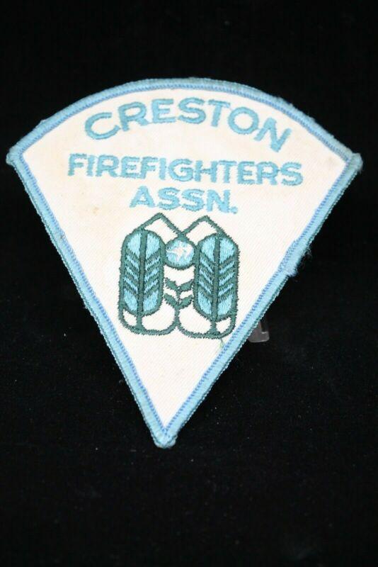 Canadian Creston Fire Assoc. Patch