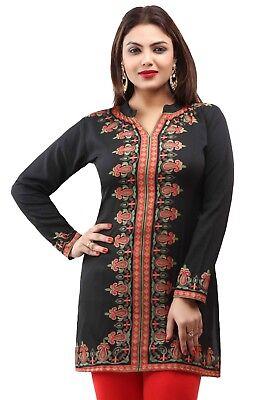 - Bollywood Indian Designer Kurta Kurti Women Ethnic Pakistani Dress Tunic E-1226