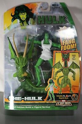 "Marvel Legends Fin Fang Foom Baf Savage She Hulk 6"" Action Figure NIB"