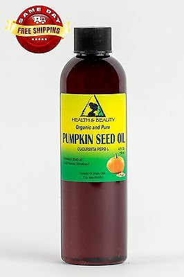 PUMPKIN SEED OIL UNREFINED ORGANIC CARRIER COLD PRESSED VIRGIN RAW PURE 4 OZ