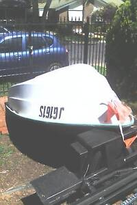 FIBERGLASS DINGY & JOHNSON 9.9HP OUT BOARD MOTOR $1200   OR SWAP Munno Para Playford Area Preview