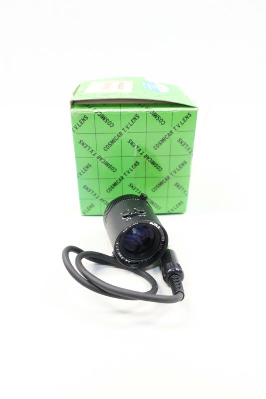 Philips TC1810D2 Cosmicar Pentax Cctv Lens 8mm 1:1.4