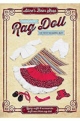 Sewing a Rag Doll Outfit Kit - Gypsy Outfit to fit 54cm Rag Doll