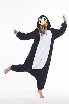 Women Men Unisex Adult Onesie0 Animal Penguin Kigurumi Pajamas Cosplay Costume