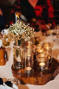 Wedding engagement beach rustic decor (jars) Kings Park Blacktown Area Preview