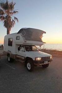 1988 Toyota Hilux Motorhome Port Adelaide Port Adelaide Area Preview