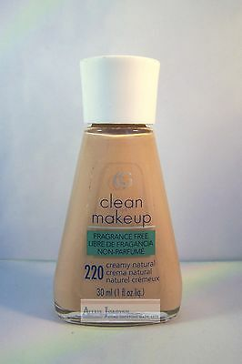 CoverGirl Clean Makeup Foundation - Regular - Oil Control - Fragrance Free Cover Girl Clean Makeup Foundation