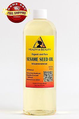 Sesame Oil Refined Organic By H&b Oils Center Expeller Pr...