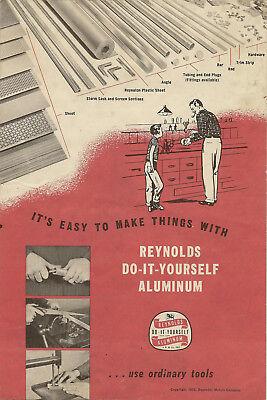 1955 REYNOLDS ALUMINUM DO-IT-YOURSELF BROCHURE (REYNOLDS METALS CO.)