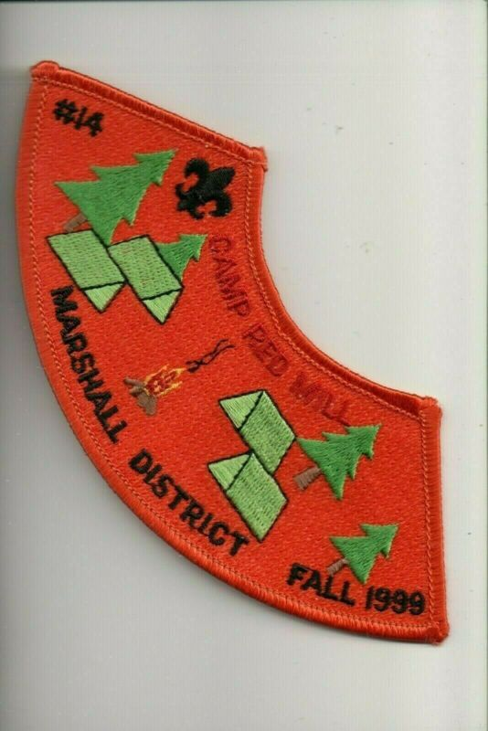 1999 Marshall District Camp Red Mill Fall patch