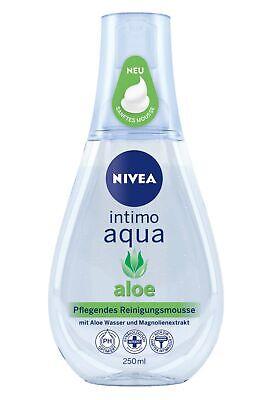 Nivea Nourishing Cleansing Mousse Intimo Aqua 250ml Aloe