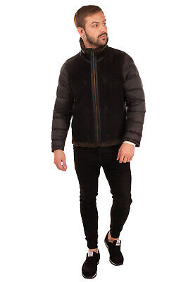 RRP€1190 TEN C Down Shearling Liner Size 50 / L Padded Quilted Made in Italy