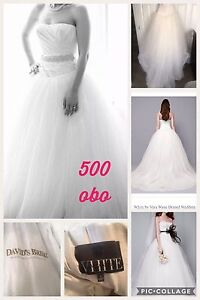 Bridal Gown and bridesmaid's dresses