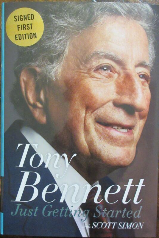 Tony Bennett Signed Book - Beckett BAS