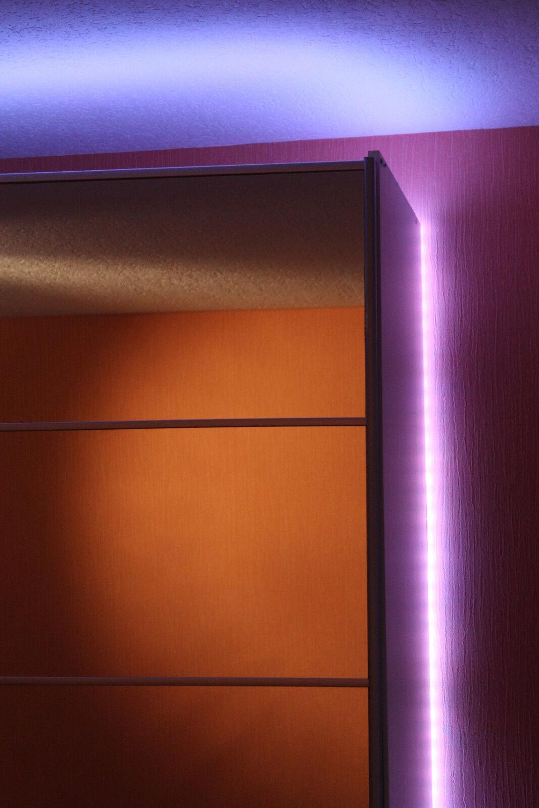 RGB LED Strip Band Leiste 5 Meter mit 150 LEDs - Komplettset mit Fernbedienung