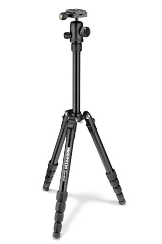 Manfrotto Element Traveller Tripod Small with Ball Head, Bla